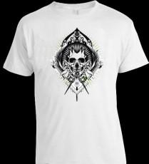 Camiseta Caveira Estilizada