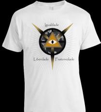 Camiseta Delta e Olho com Lema Maçonico